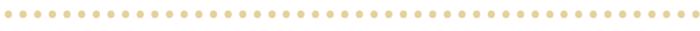Gold Dot Divider